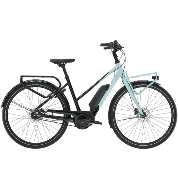 TREK District+ 2 500 Wh Stagger 2021 Bicycle GRAY S