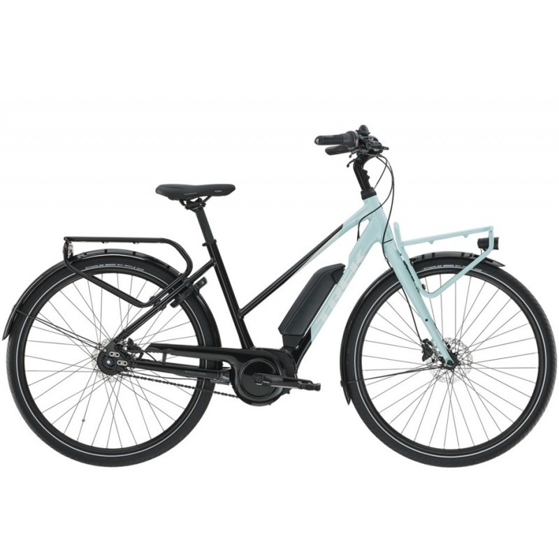 TREK District+ 2 300 Wh Stagger 2021 Bicycle GRAY S