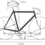 que es la distancia entre ejes en bicicleta