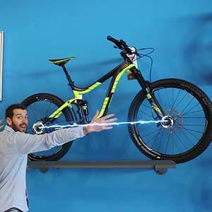 qué es la distancia entre ejes en bicicleta