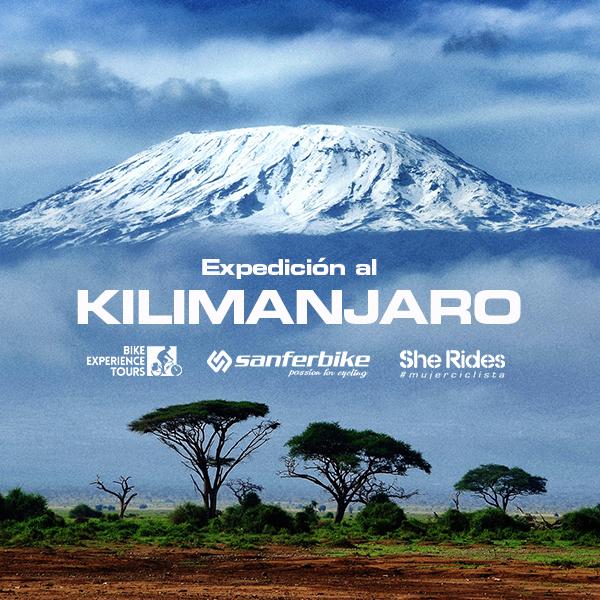 Kilimanjaro en bicicleta