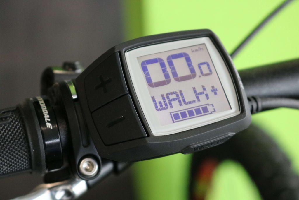 Display Bosch modo walk