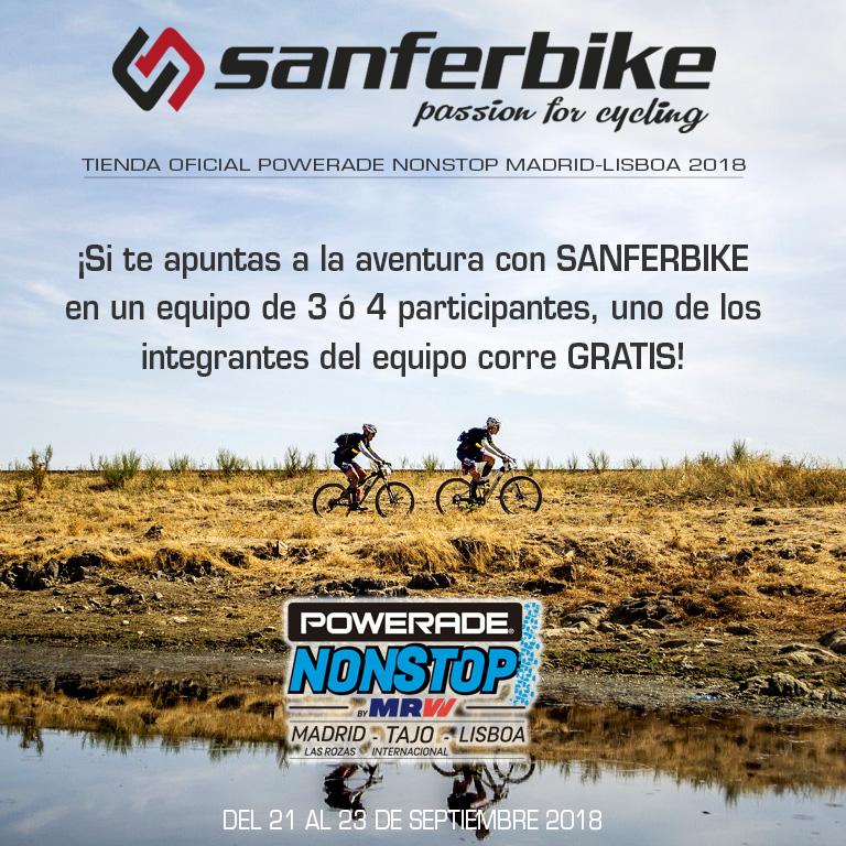 Sanferbike Madrid Lisboa 2018