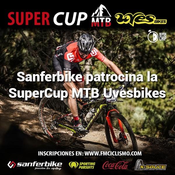 Sanferbike patrocina la Supercup