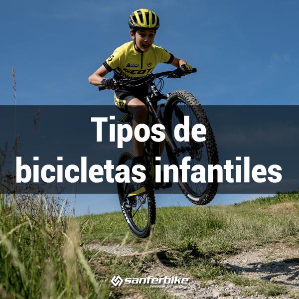 Tipos de bicis infantiles