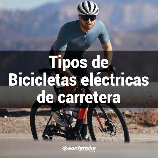 Tipos de bicis eléctricas de carretera