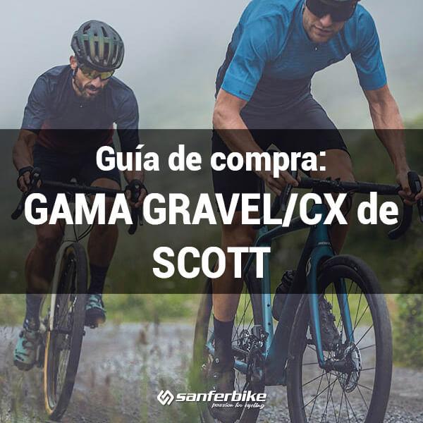Bicicletas gravel y cx de Scott